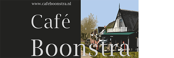 Cafe boonstra, sponsor Zomerbad Peize, openluchtbad Noordenveld