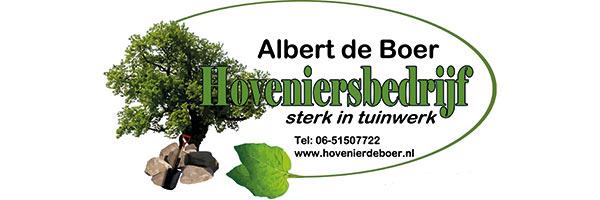 albert de boer hovenier, sponsor Zomerbad Peize, openluchtbad Noordenveld