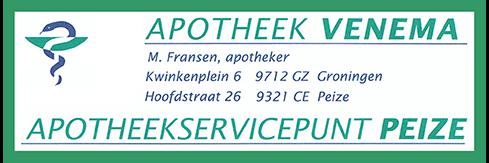 Apotheek Peize, sponsor Zomerbad Peize, openluchtbad Noordenveld