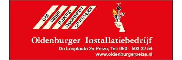 Oldenburger, sponsor Zomerbad Peize, openluchtbad Noordenveld