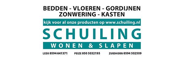 Schuiling, sponsor Zomerbad Peize, openluchtbad Noordenveld